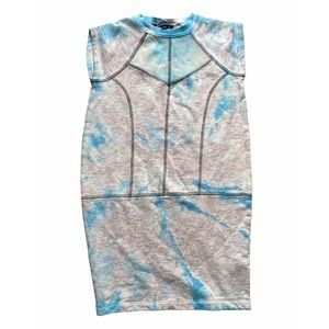 French Connection Speckled Tie Dye Dress